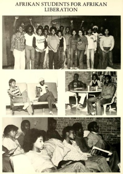 Afrikan Students for Afrikan Liberation 1980