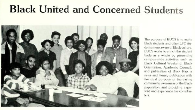 Black United and Concerned Students 1984